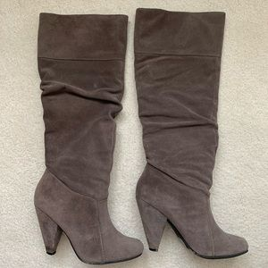 Jessica Simpson suede boots - size 6.5